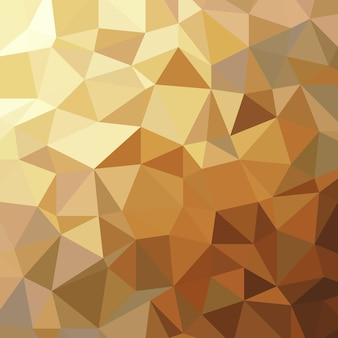 Streszczenie złoty trójkąt niski wielokąt geometryczny luksus ilustracja