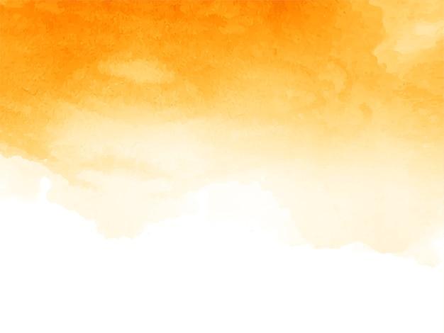 Streszczenie żółte tło akwarela