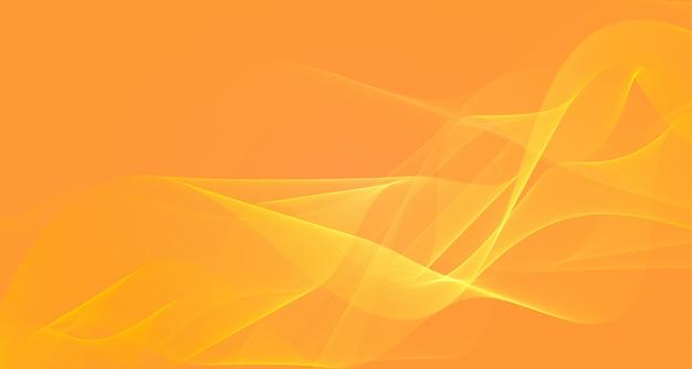 Streszczenie żółte tło faliste światło