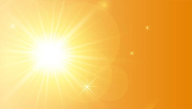 Streszczenie żółty świecący wzór