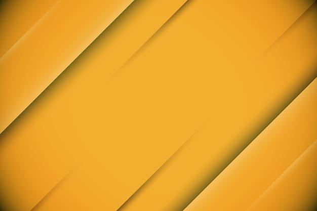 Streszczenie żółty z dynamicznymi liniami tła. ilustracja wektorowa.