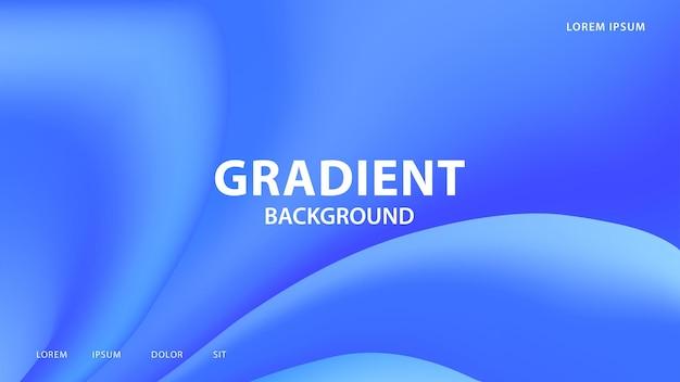 Streszczenie żywe tło gradientowe w odcieniach niebieskiego. do graficznego projektowania kolorowego, szablon projektu układu broszury.