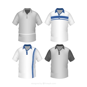 Striped męskiej kolekcji polo shirt