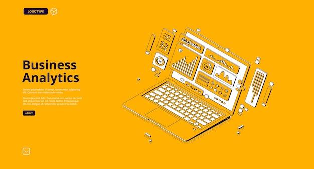 Strona docelowa analityki biznesowej