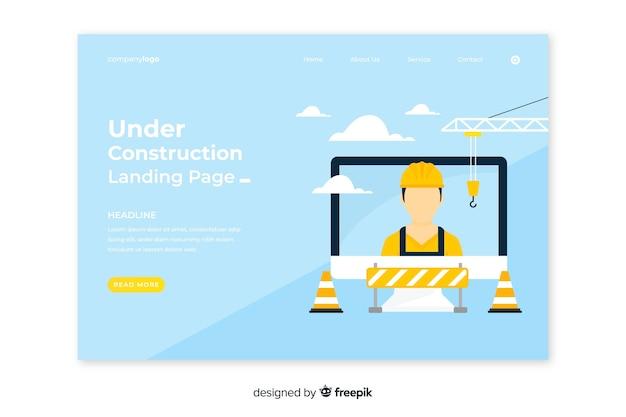 Strona docelowa budowy