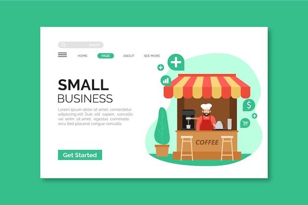 Strona docelowa dla małych firm
