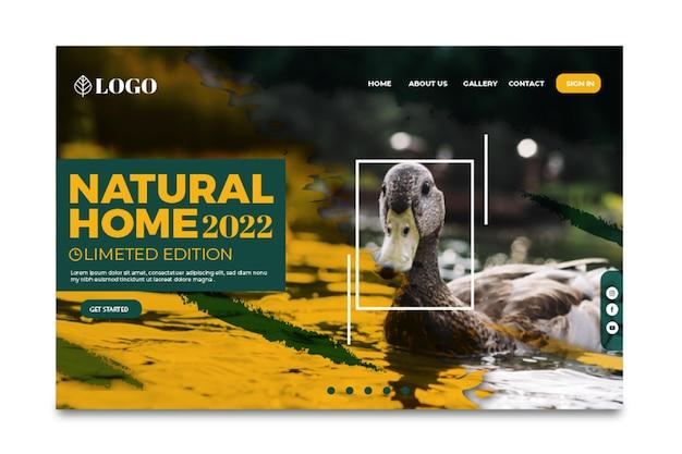 Strona docelowa dzikiej przyrody