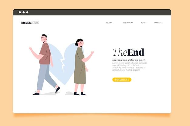 Strona docelowa koncepcji rozwodu