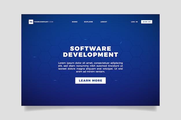 Strona docelowa koncepcji technologii