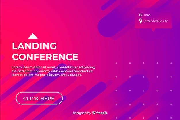 Strona docelowa konferencji