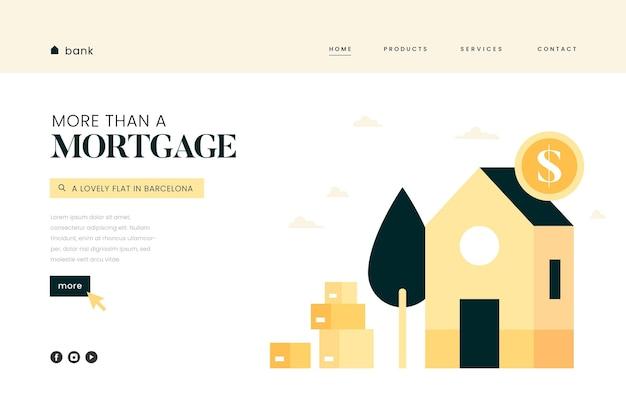 Strona docelowa kredytu hipotecznego
