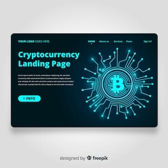 Strona docelowa kryptowaluty
