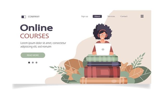 Strona docelowa kursów online