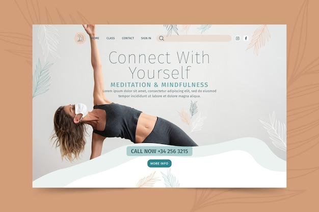 Strona docelowa medytacji i uważności