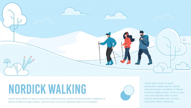 Strona docelowa nordic walking