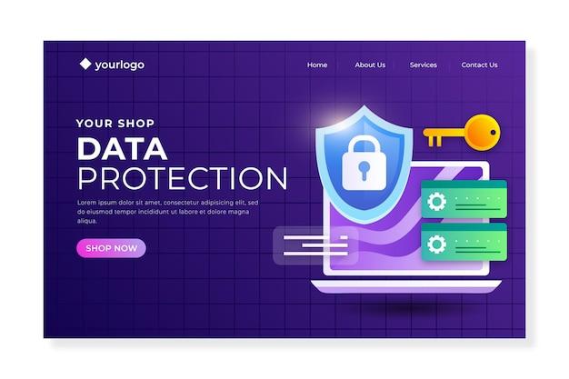 Strona docelowa ochrony danych