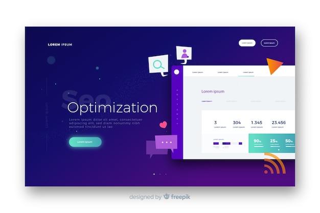 Strona docelowa optymalizacji seo