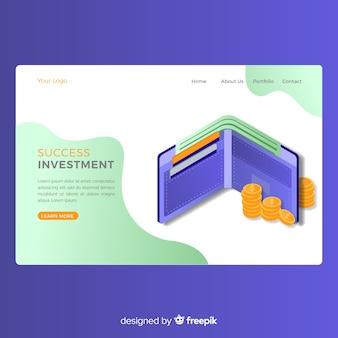 Strona docelowa pieniędzy
