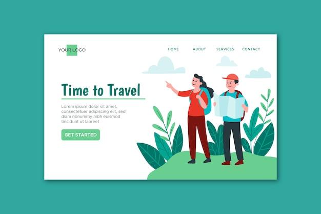 Strona docelowa podróży