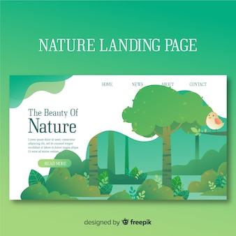 Strona docelowa przyrody