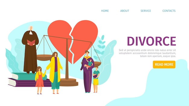 Strona docelowa rozwodu
