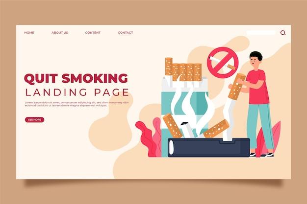 Strona docelowa rzucenia palenia