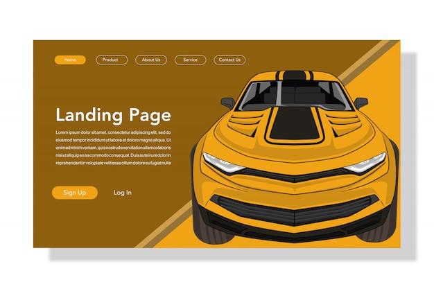 Strona docelowa samochodu