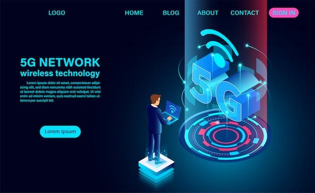 Strona docelowa sieci 5g