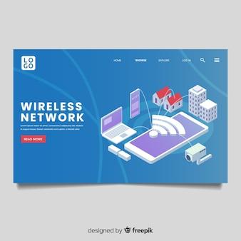 Strona docelowa sieci bezprzewodowej