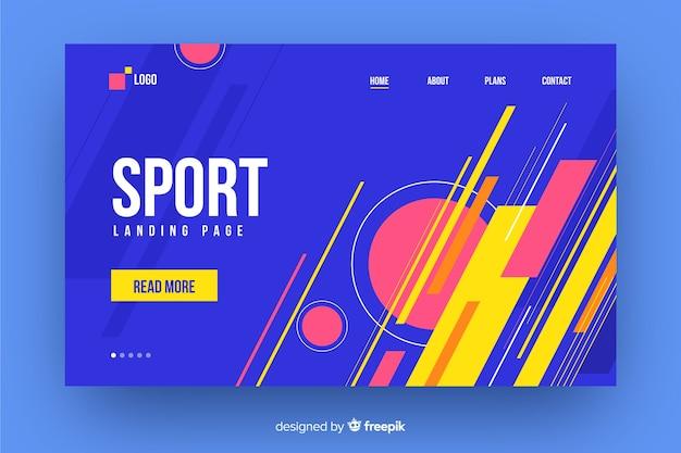 Strona docelowa sportu memphis