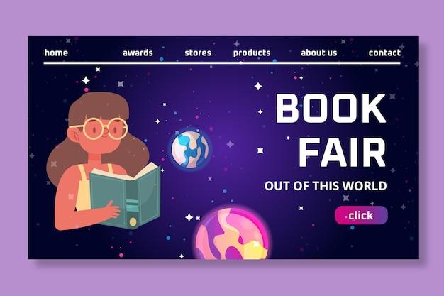 Strona docelowa światowego dnia książki