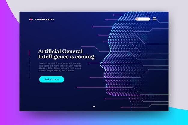 Strona docelowa sztucznej inteligencji
