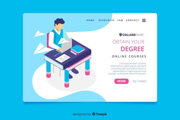 Strona docelowa uniwersytetu