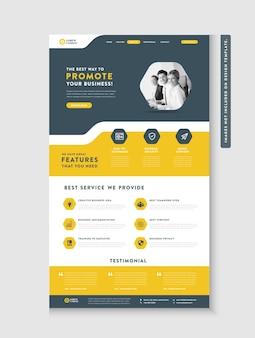 Strona docelowa witryny firmy