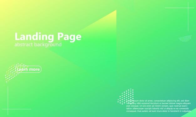 Strona docelowa witryny. geometryczne tło. minimalny abstrakcyjny projekt okładki. kreatywne kolorowe tapety. modny plakat gradientowy. ilustracja wektorowa.