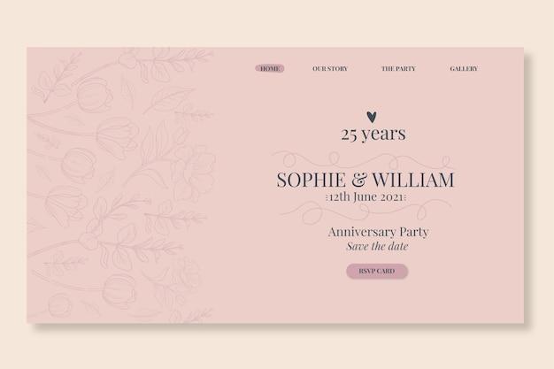 Strona docelowa z okazji 25-lecia