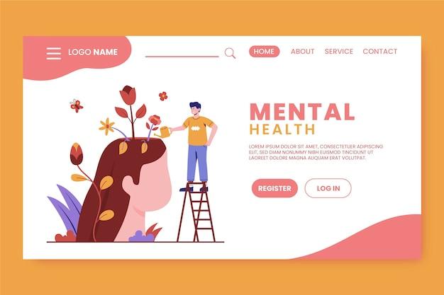 Strona docelowa zdrowia psychicznego