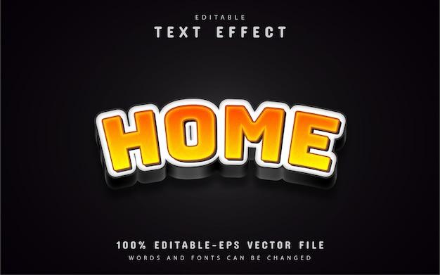 Strona główna pomarańczowe efekty tekstowe gradientu