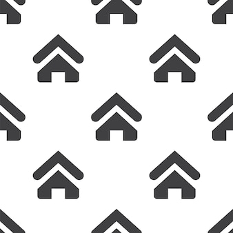 Strona główna, wektor bezszwowy wzór, edytowalny może być używany do tła stron internetowych, wypełnienia deseniem
