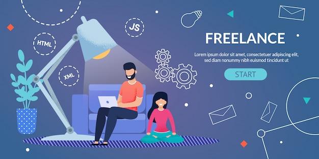 Strona internetowa reklama freelance praca zdalna w domu