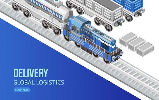 Strona internetowa usługi dostawy