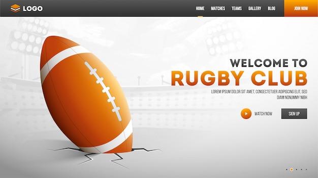 Strona klubu rugby.