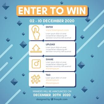 Strona konkursu na media społecznościowe