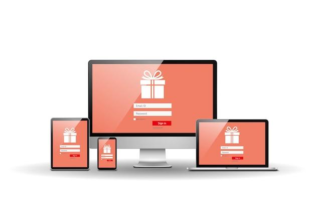 Strona zakupów internetowych