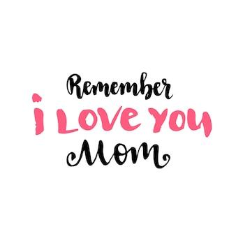 Strony napis na dzień matki karty