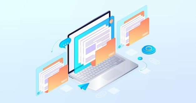 Struktura rozwoju procesów firmy organizacja biznesu komunikacja cyfrowa zbiór danych