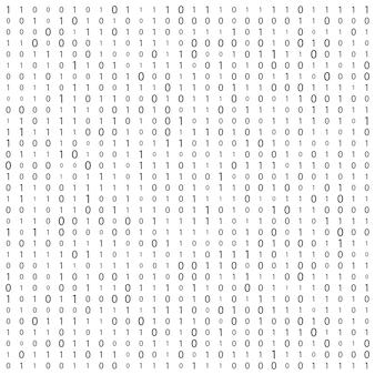Strumień kodu binarnego tło macierzy komputera