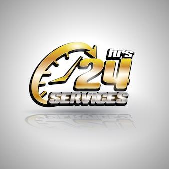 Strzałka owalna usługa 24h ikona