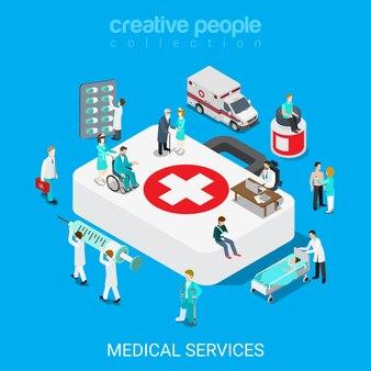 Strzykawka Do Pigułek Dla Personelu Szpitala W Dużym Pudełku Premium Wektorów