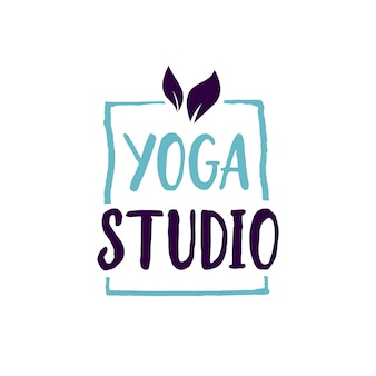 Studio jogi napis w ramce